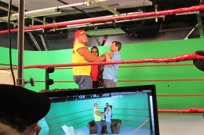 Hulk Hogan Green Screen