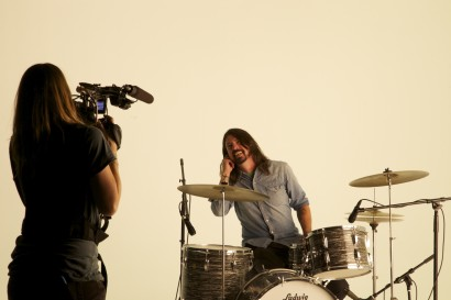 Filming Music Video with Dave Grohl - Foo Fighters