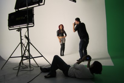 Behind the Scenes on a Photo Shoot for MTV
