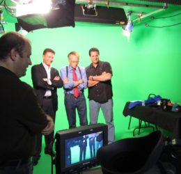 Larry King on Green Screen