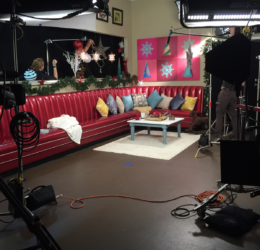 loyal studios set 50s diner