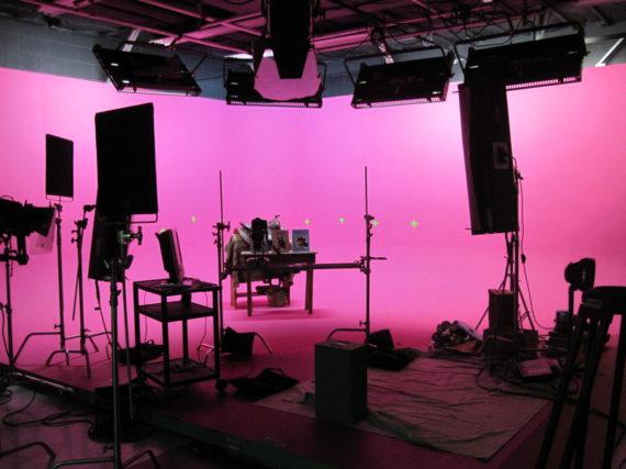 pink chroma key cyc loyal studios