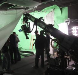 techno crane loyal studios green screen
