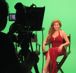 Carmen Becerra mexican superstar green screen loyal studios