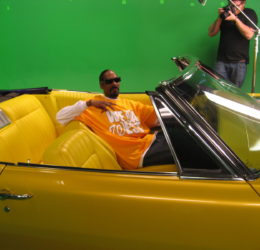 snoop dogg loyal studios green screen yellow low rider