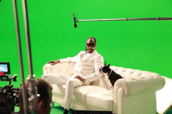 snoop dogg green screen loyal studios vodaphone