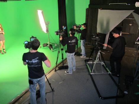loyal studios production crew green screen
