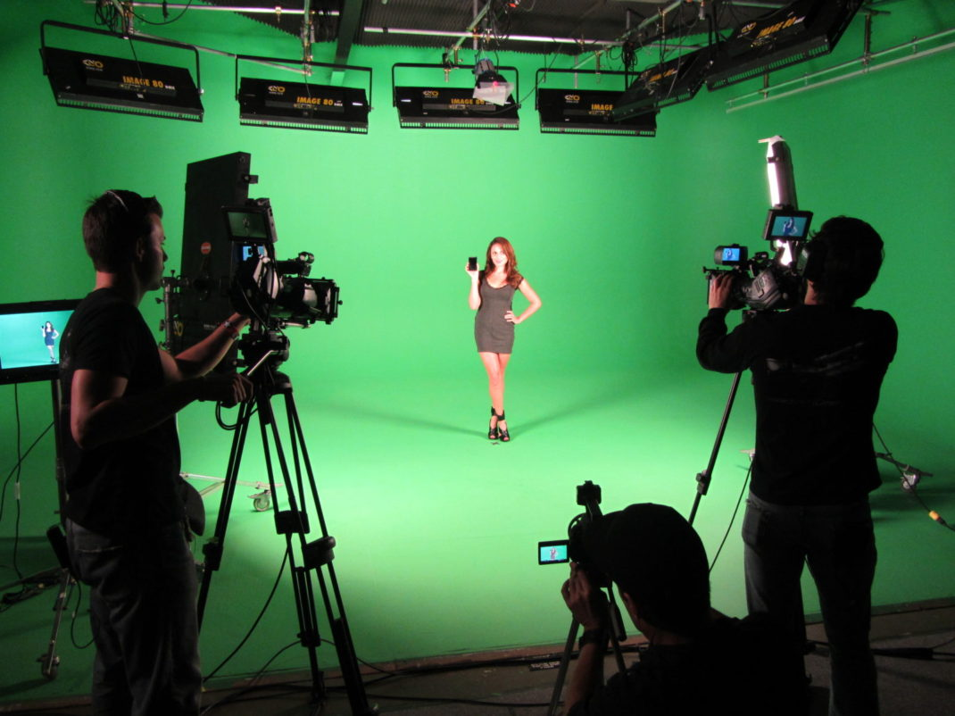green screen loyal studios camera