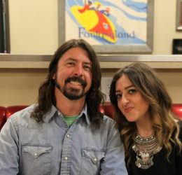 dave grohl loyal studios 50s diner