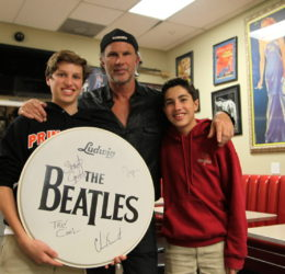 chad smith loyal studios red hot chili peppers