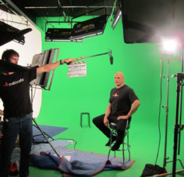 bas rutten loyal studios green screen