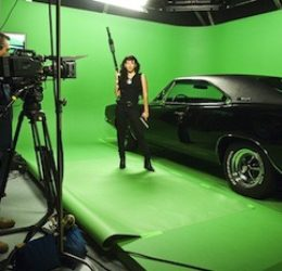 charger gun loyal studios green screen