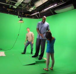shaq lakers nba loyal studios green screen