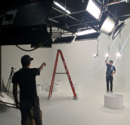 white cyc cyclorama loyal studios